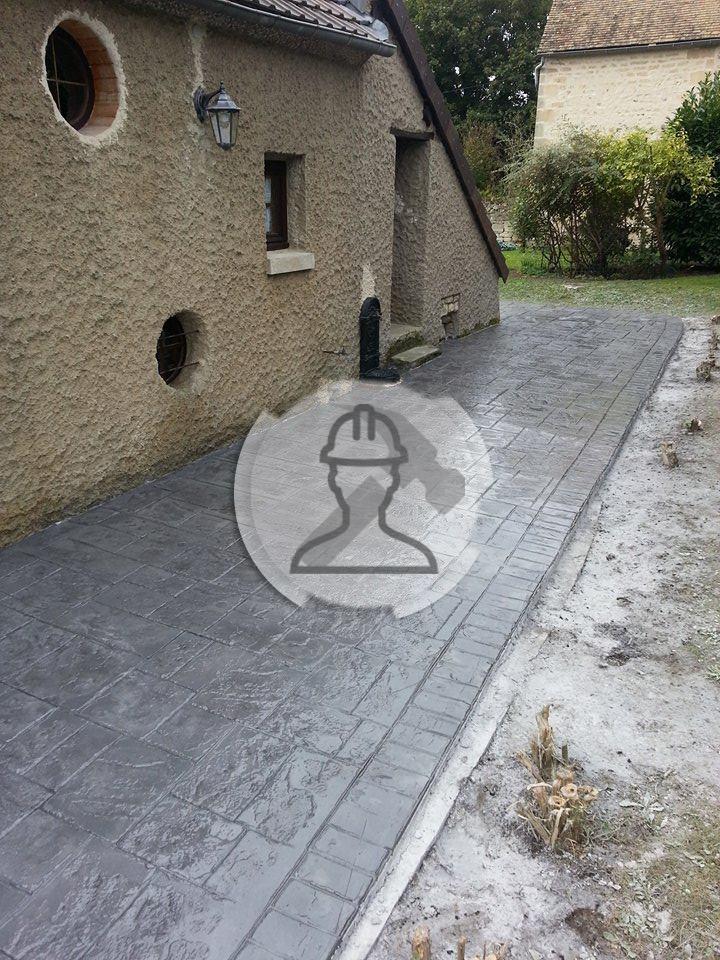 b ton imprim dans nantes pour terrasses parking entr e garage et plus. Black Bedroom Furniture Sets. Home Design Ideas