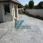 beton estampe bois