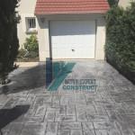 beton imprime estampe