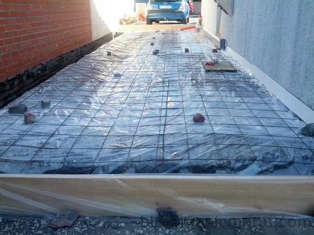 polyane sous dalle beton